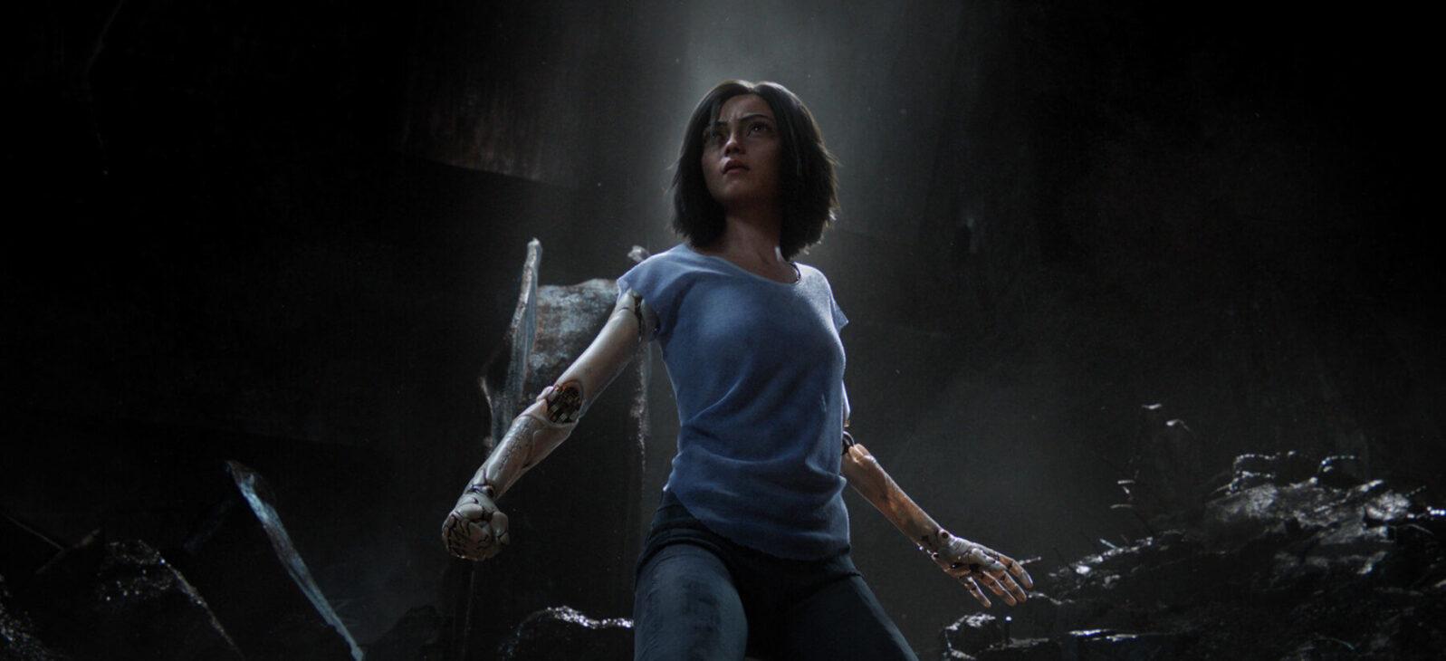 Still from the movie Alita, Battle Angel