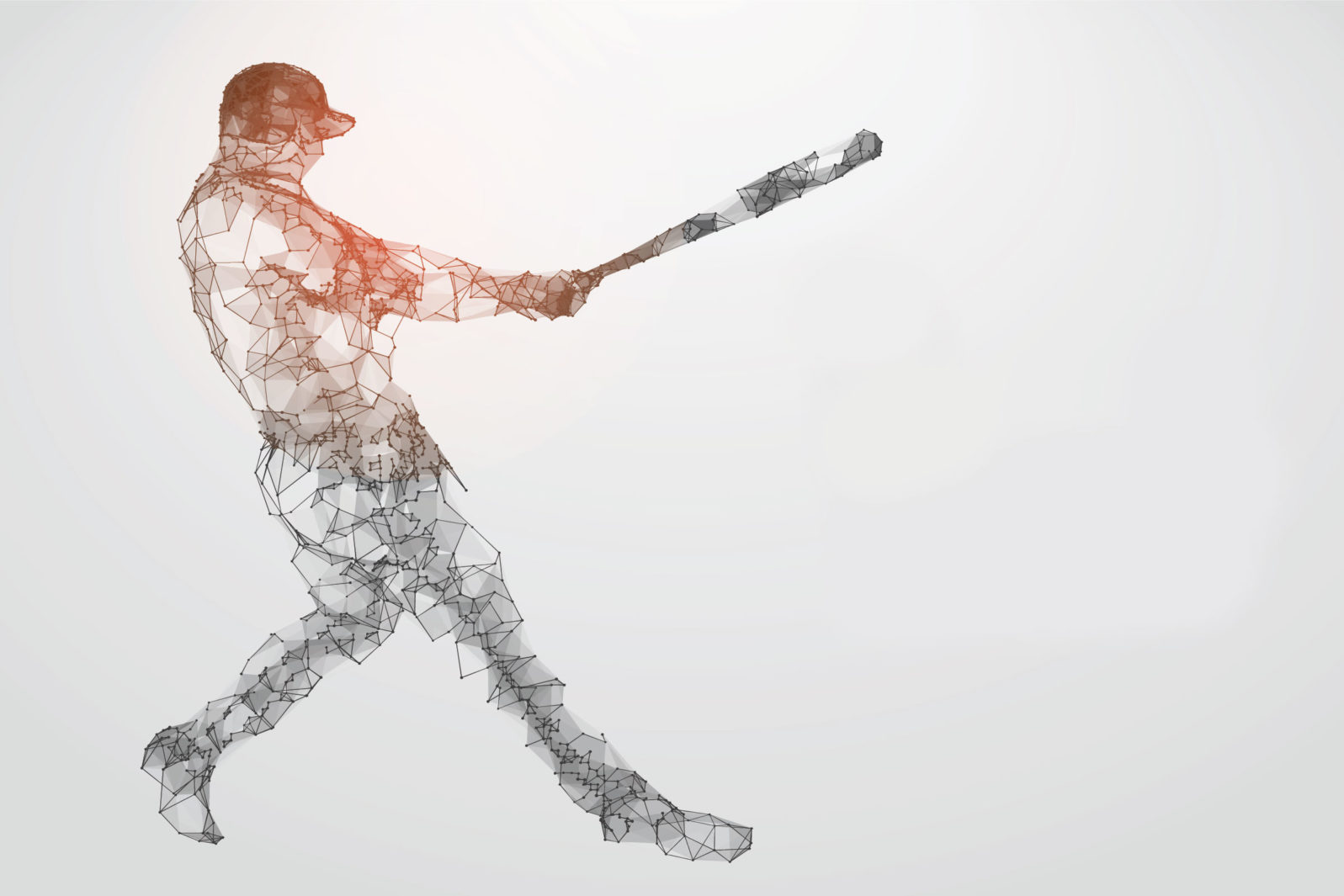 Baseball player vectors