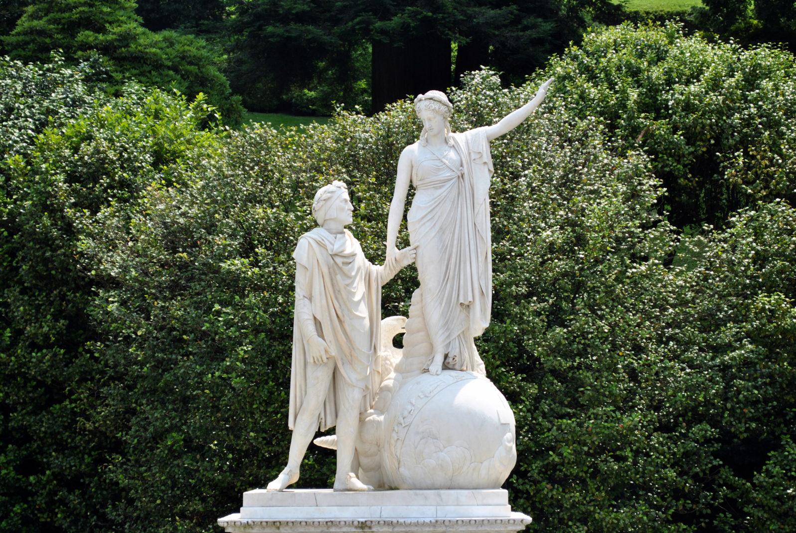 Villa Melzi - Dante e Beatrice