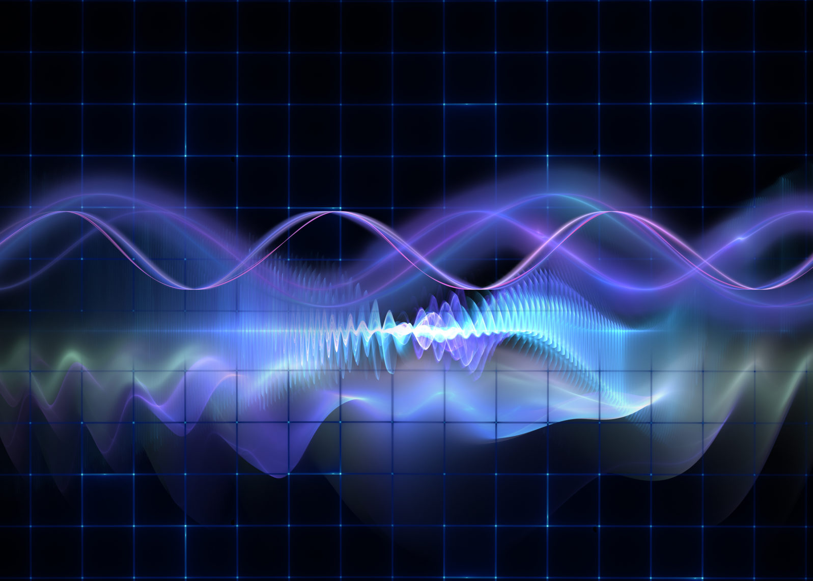 Abstract background of science and technology