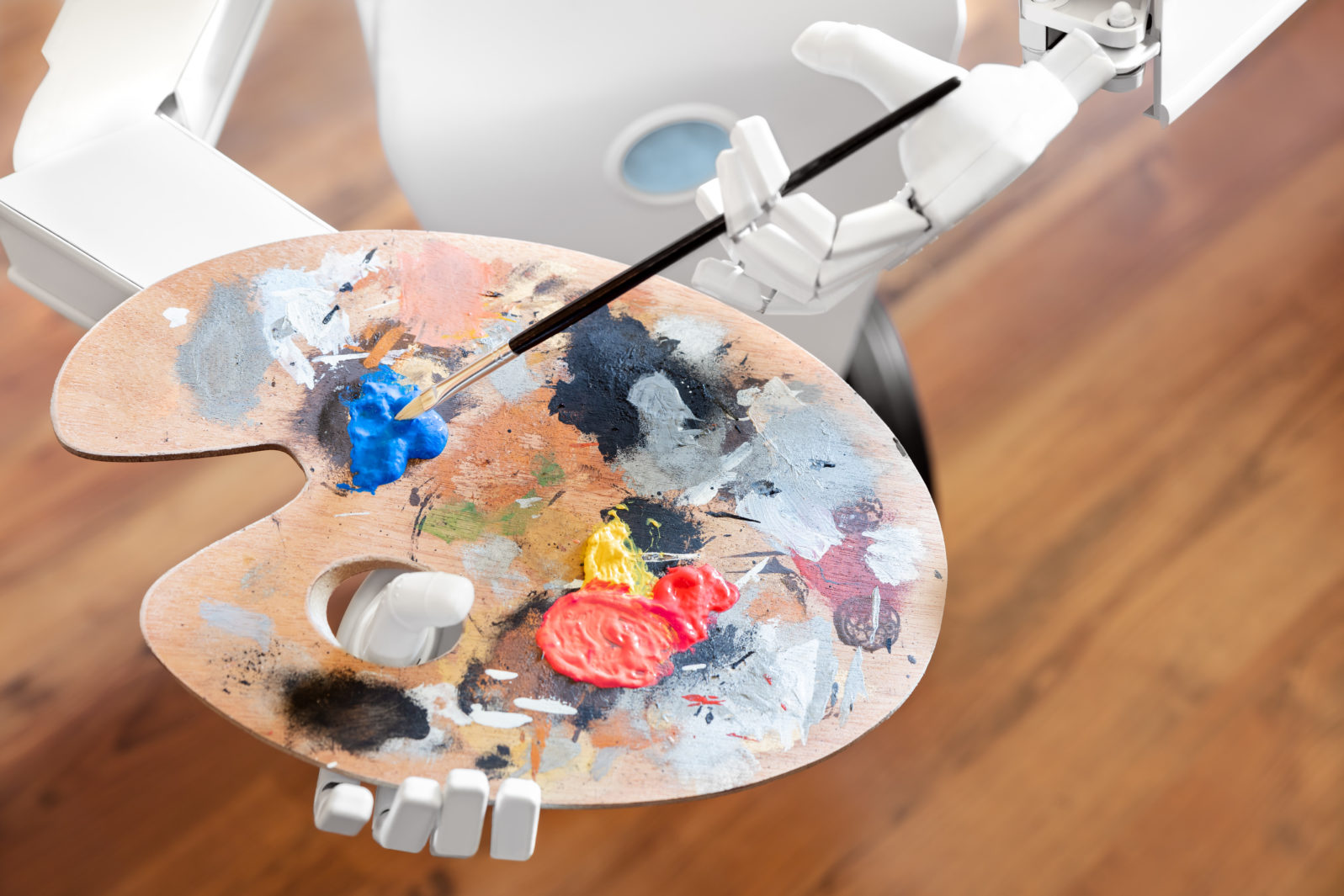 robot ai artificial intelligence is learning creativity